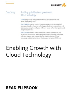 Enabling Growth with Cloud Technology