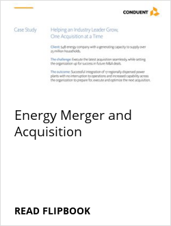 Energy Merger and Acquisition