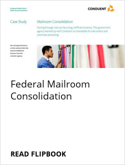 Federal Mailroom Consolidation