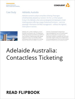 Adelaide Australia: Contactless Ticketing