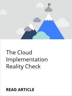 The Cloud Implementation Reality Check
