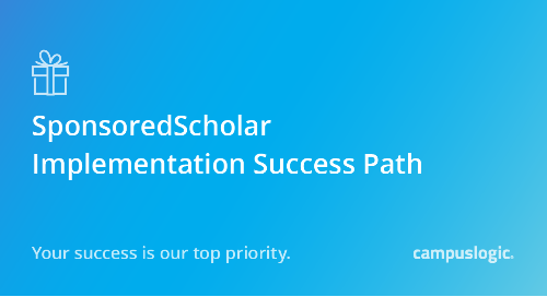 SponsoredScholar Success Path