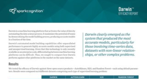 Darwin Efficacy Report