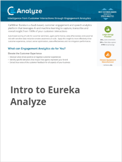Intro to Eureka Analyze