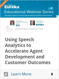 Using Speech Analytics to Accelerate Agent Development and Customer Outcomes