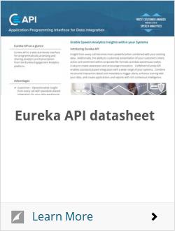 Eureka API datasheet