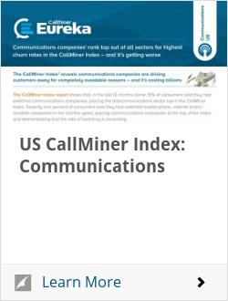US CallMiner Index: Communications