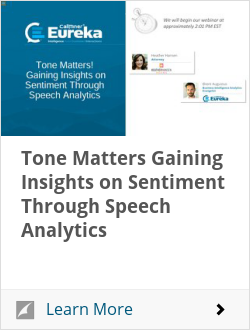 Tone Matters Gaining Insights on Sentiment Through Speech Analytics