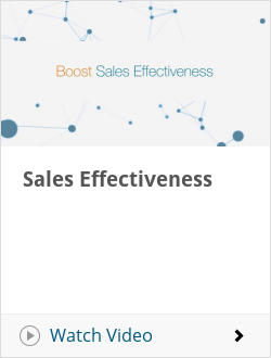 Sales Effectiveness