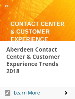 Aberdeen Contact Center & Customer Experience Trends 2018