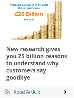 New research gives you 25 billion reasons to understand why customers say goodbye