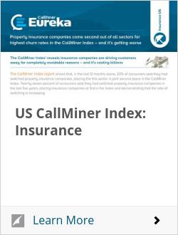 US CallMiner Index: Insurance
