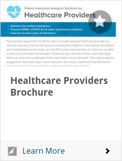 Healthcare Providers Brochure