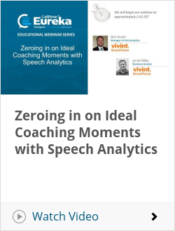 Zeroing in on Ideal Coaching Moments with Speech Analytics