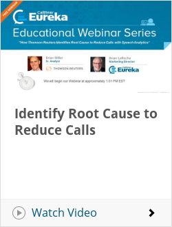 Identify Root Cause to Reduce Calls