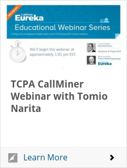 TCPA CallMiner Webinar with Tomio Narita