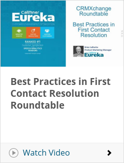 Best Practices in First Contact Resolution Roundtable