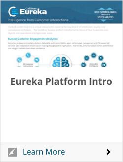 Eureka Platform Intro