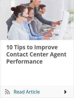 10 Tips to Improve Contact Center Agent Performance
