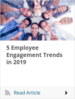 5 Employee Engagement Trends in 2019