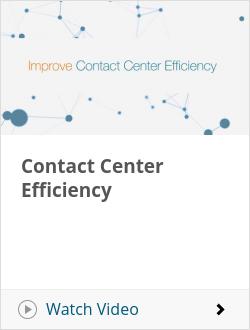 Contact Center Efficiency