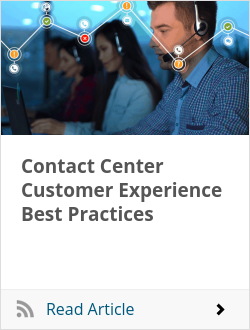 Contact Center Customer Experience Best Practices