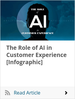 The Role of AI in Customer Experience [Infographic]