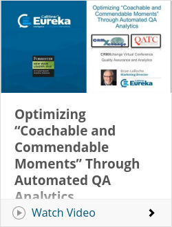 "Optimizing ""Coachable and Commendable Moments"" Through Automated QA Analytics"
