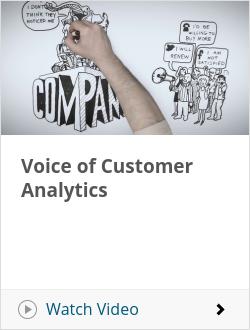 Voice of Customer Analytics
