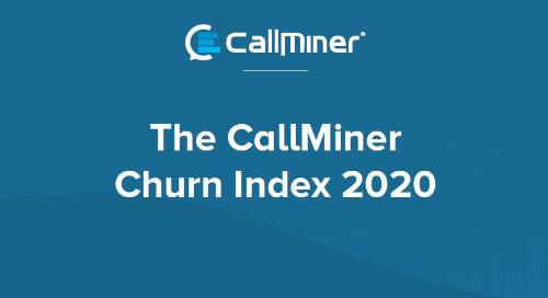 UK CallMiner Churn Index 2020