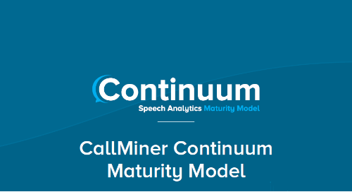 The Continuum Maturity Model
