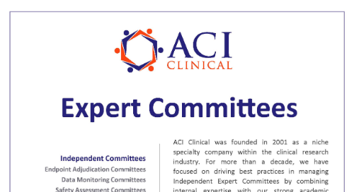 ACI Clinical Services Overview