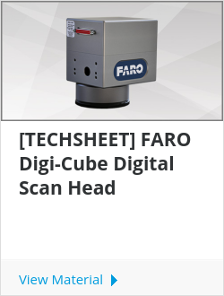 [TECHSHEET] FARO Digi-Cube Digital Scan Head