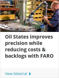 Oil States improves precision while reducing costs & backlogs with FARO