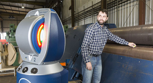 Precision machine alignment using Laser Tracker & BuildIT Metrology
