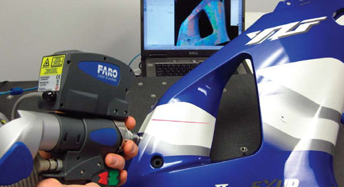 Providing high-quality rapid prototyping using the FARO ScanArm