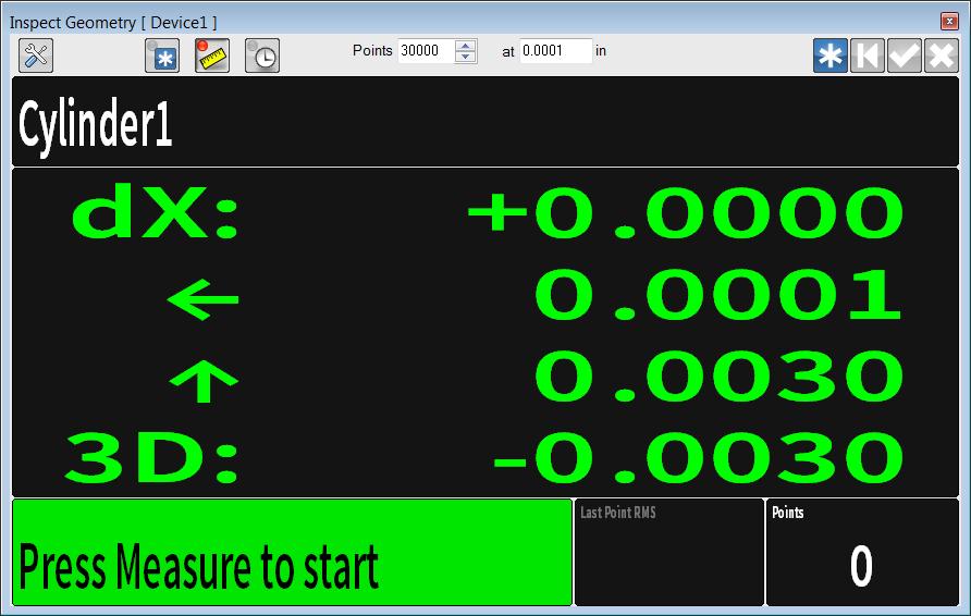 BuildIT Unicode character arrows in measure control window