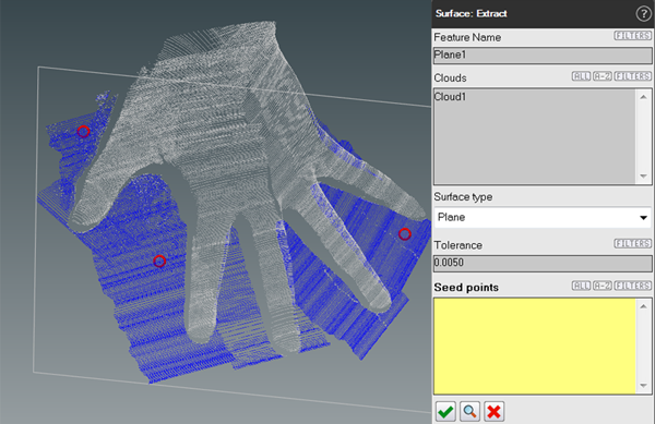 screenshot BuildIT Hand Extract Surface