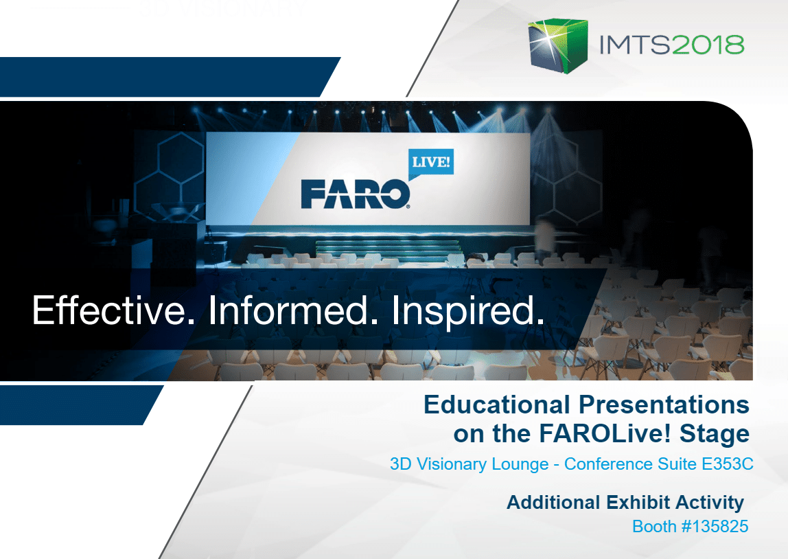 FAROLive! at IMTS 2018