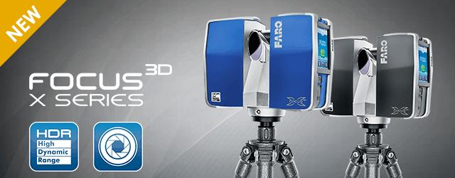 Focus 3D X Series