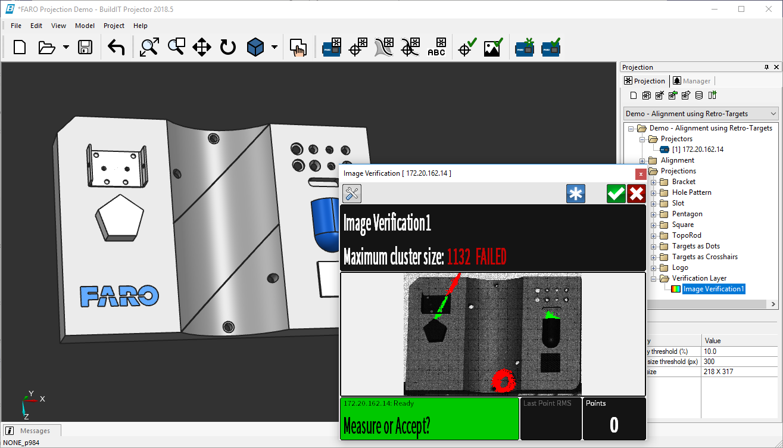 BuildIT Projector software