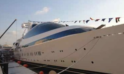 "AvMar was tasked with providing glass for ""Yas"", a 141-meter superyacht built in Abu Dhabi"
