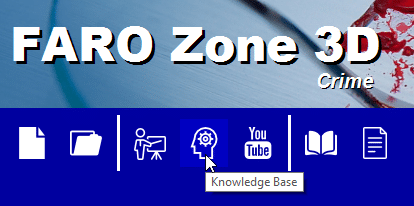 Knowledge Base on FARO ZOne