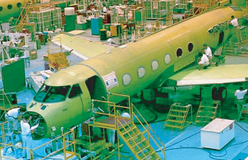 Gulfstream Fuselage Assembly