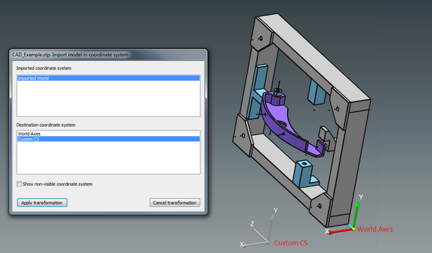 BuildIT Select Coordinate System