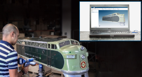 The tables have turned: FARO adds an 8th axis to 3D scanning