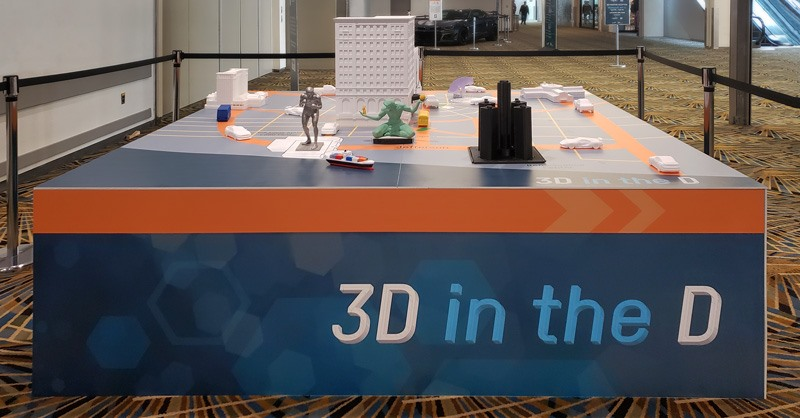 3D in the D at RAPID 2019