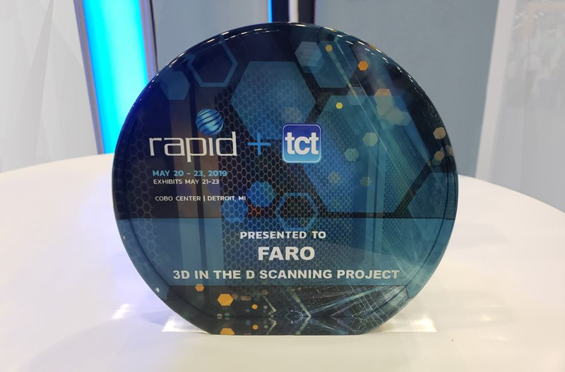 FARO 3D in the D cityscape scanning award