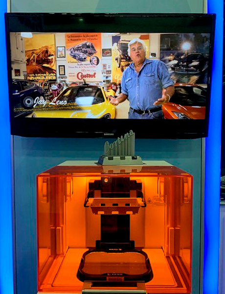 3D Systems Printer Jay Leno Video
