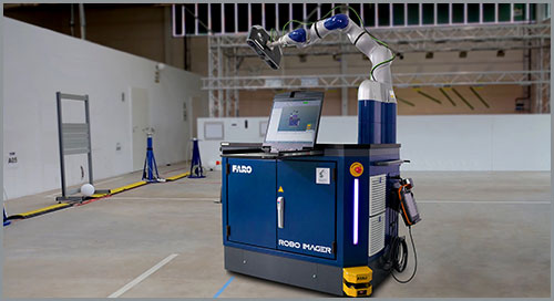 Automated inspection of complex parts